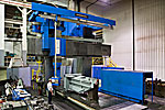 INGERSOLL Master Head 5-Axis CNC, Bridge Type, Milling Machine